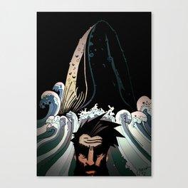 Achab Canvas Print
