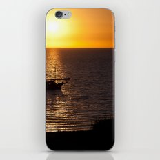 Sunset in Cyprus iPhone & iPod Skin
