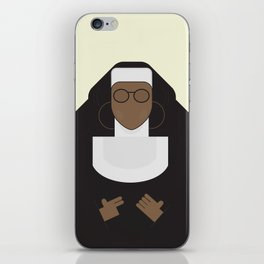 Sister Act, minimal Movie Poster, classic comedy film, funny, Whoopi Golberg, american cinema iPhone Skin