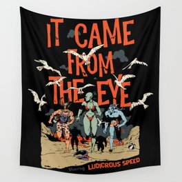 Pius Bak - It Came From the Eye Wall Tapestry
