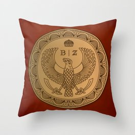 THE RUBY PRINCE Throw Pillow