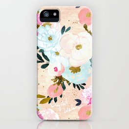 Florence Painterly Floral iPhone Case
