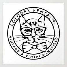 The Rolodex Rental Co.  Art Print