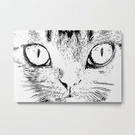 Big eyes Metal Print