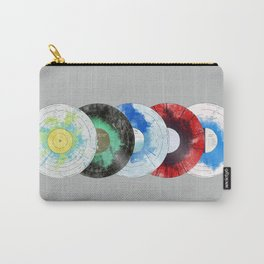 vinyl collecton Carry-All Pouch