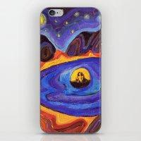 scott pilgrim iPhone & iPod Skins featuring Pilgrim by Olga_Kh