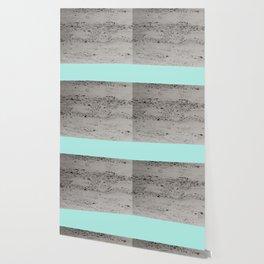 Bright Mint on Concrete #1 #decor #art #society6 Wallpaper