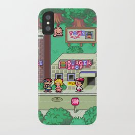 Earthbound town iPhone Case