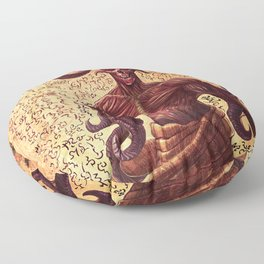 BabYlonian Demon Anatomy Floor Pillow