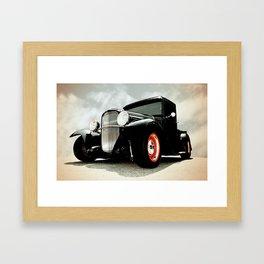 BLACK MODEL T Framed Art Print