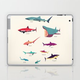 Sharks Laptop & iPad Skin