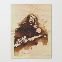 Dave Grohl Ilustracafe Canvas Print