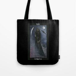 Tarot card Death XIII Tote Bag