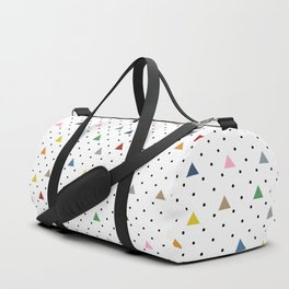 Pin Point Triangles Duffle Bag