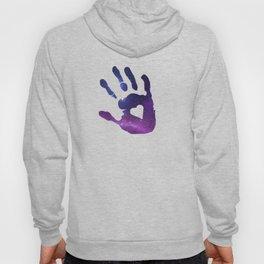 Galaxy Hand Hoody