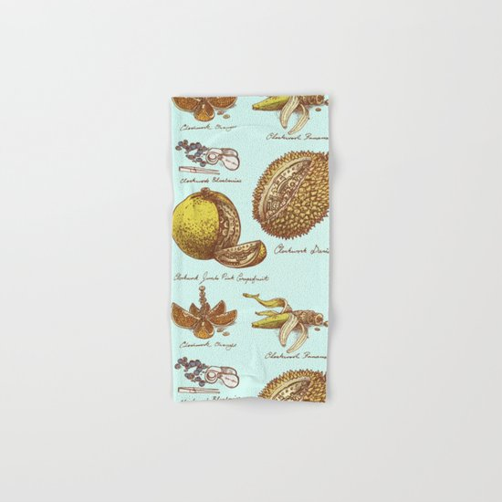 Steampunk Fruit  Hand & Bath Towel