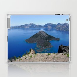 Crater Lake Volcanic Crater Oregon USA Laptop & iPad Skin