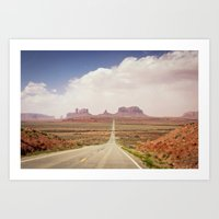 Road to the Valley Art Print