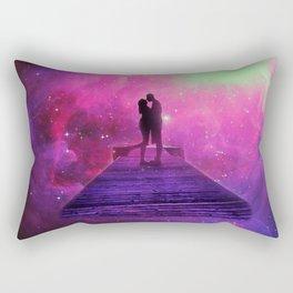 Kiss into the universe Rectangular Pillow