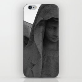 Cemetery statues iPhone Skin
