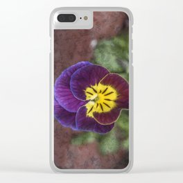Johnny Jumper Clear iPhone Case