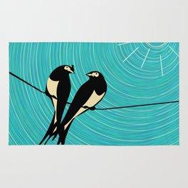 Swallows  Rug