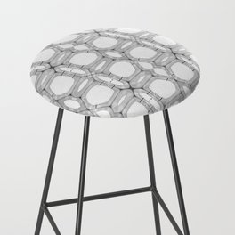 Poplar wood fibre walls electron microscopy pattern Bar Stool