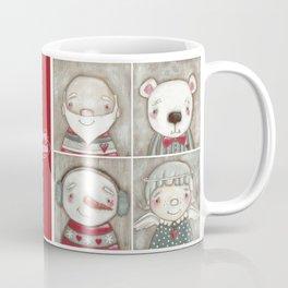 Big Happy Face for Christmas Coffee Mug