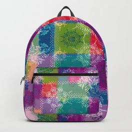 Doily Namaste Kaleidoscope Backpack