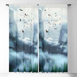 Mountain Morning 3 Blackout Curtain