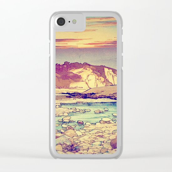 Sunset at Yuke Clear iPhone Case