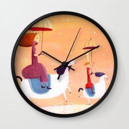 walk of princes Wall Clock