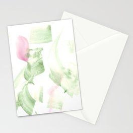 180515 Abstract WP 2 | Watercolor Brush Strokes Stationery Cards