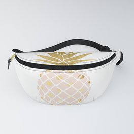 pink & gold pineapple Fanny Pack