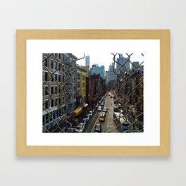 Chinatown NYC Framed Art Print