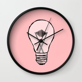 Creativity of a Drummer Wall Clock