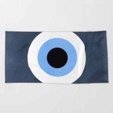 Evil Eye Beach Towel