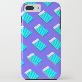 Blue Notepad iPhone Case