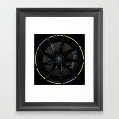 Koenigsegg Agera R wheel Framed Art Print