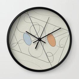 Geometric fever Wall Clock