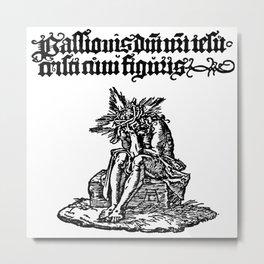 Small Passion: Man of sorrow Metal Print