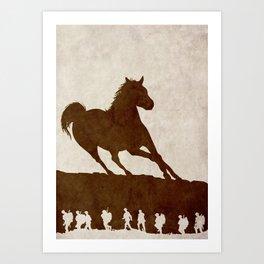 War Horse Art Print