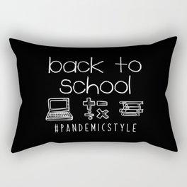 Back to School Homeschooling Homeschool Rectangular Pillow