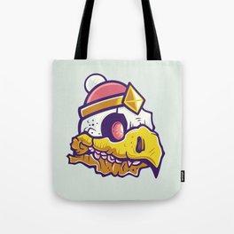 Bird Skull Tote Bag