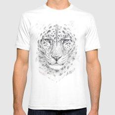 Panthera G028 Mens Fitted Tee MEDIUM White