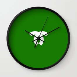 Flag of kobeshi Wall Clock