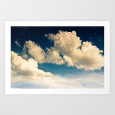 Cloudy Day Art Print