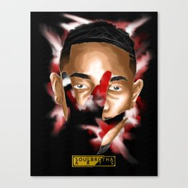 West Ken X SoulBrothaARTS Canvas Print