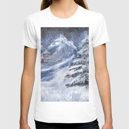Cabin In The Mountains T-shirt