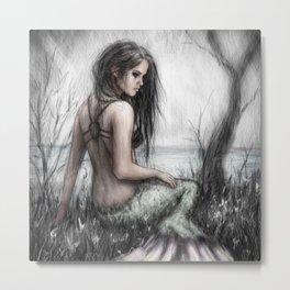 Mermaid's Rest Metal Print